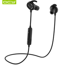QCY QY19 IPX4-rated sweatproof stereo bluetooth 4.1 headphones wireless sports earphones aptx headset with MIC for iphone 5s 6 7(China (Mainland))
