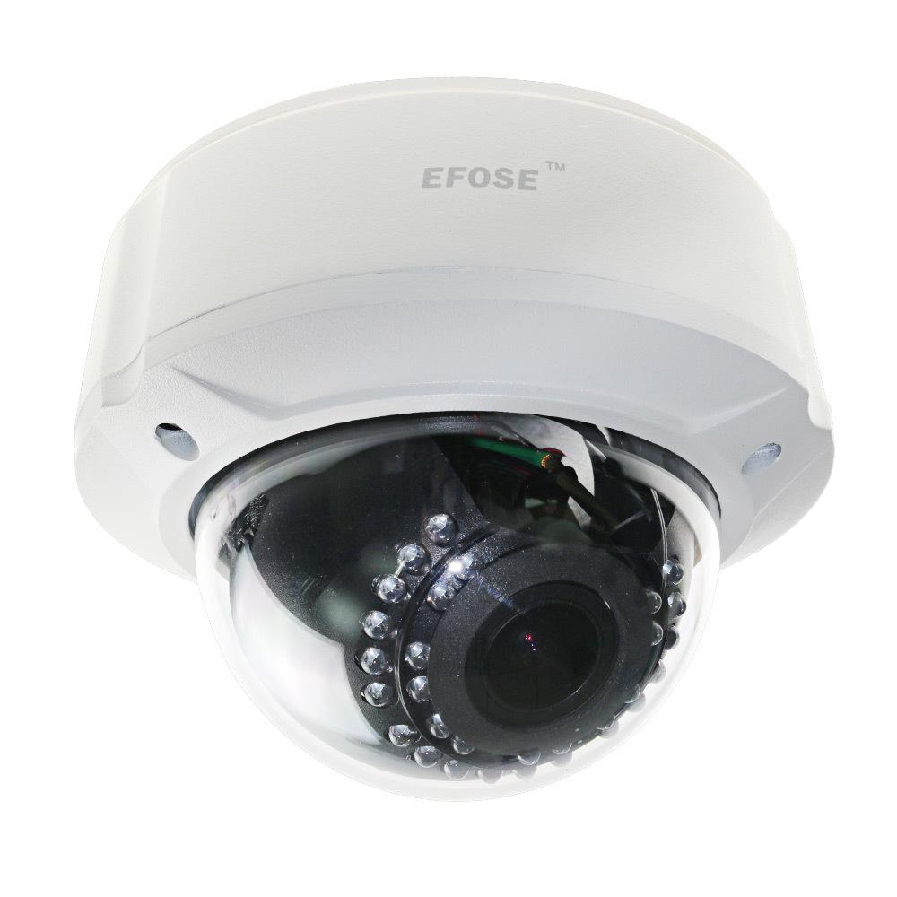 EFOSE-Home CCTV 700TVL 1/3 E-Effio CCD 2.8-12mm Lens OSD Vandal Proof Dome IR Camera(China (Mainland))