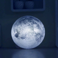 Free shipping,relaxing healing moon light ,indoor LED wall moon lamp with remote control novel lamp retailsale(China (Mainland))