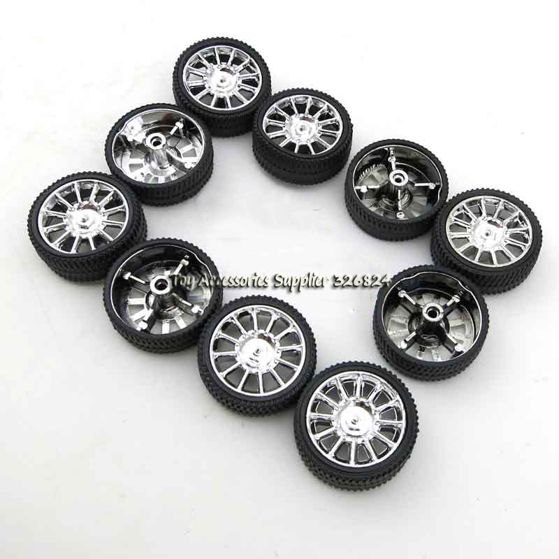 26mm Rubber wheels four-wheel drive model tire DIY technology small production campaign materials package(China (Mainland))