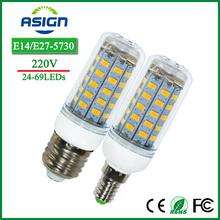 E27 Bulbs Corn Led Lights SMD5730 220V 24 36 48 56 69leds E14 Bulb Lamps LED Candle Spotlight Indoor Lighting - Shenzhen Asign Technology Co.,LTD store