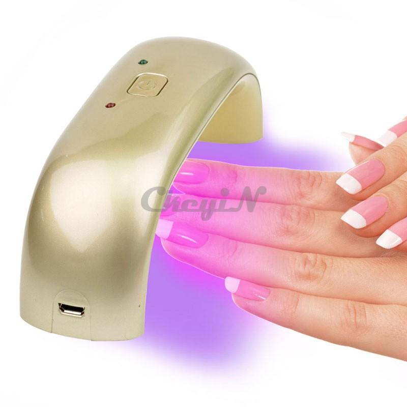 Процесс сушки ногтей