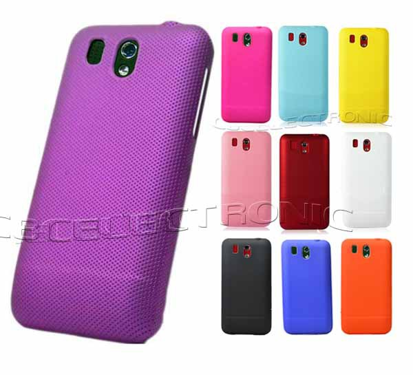 New High Quality Multi Color  Plastic Net Mesh Holes Skidproof Hard Case Back Cover For HTC G6 Legend(China (Mainland))