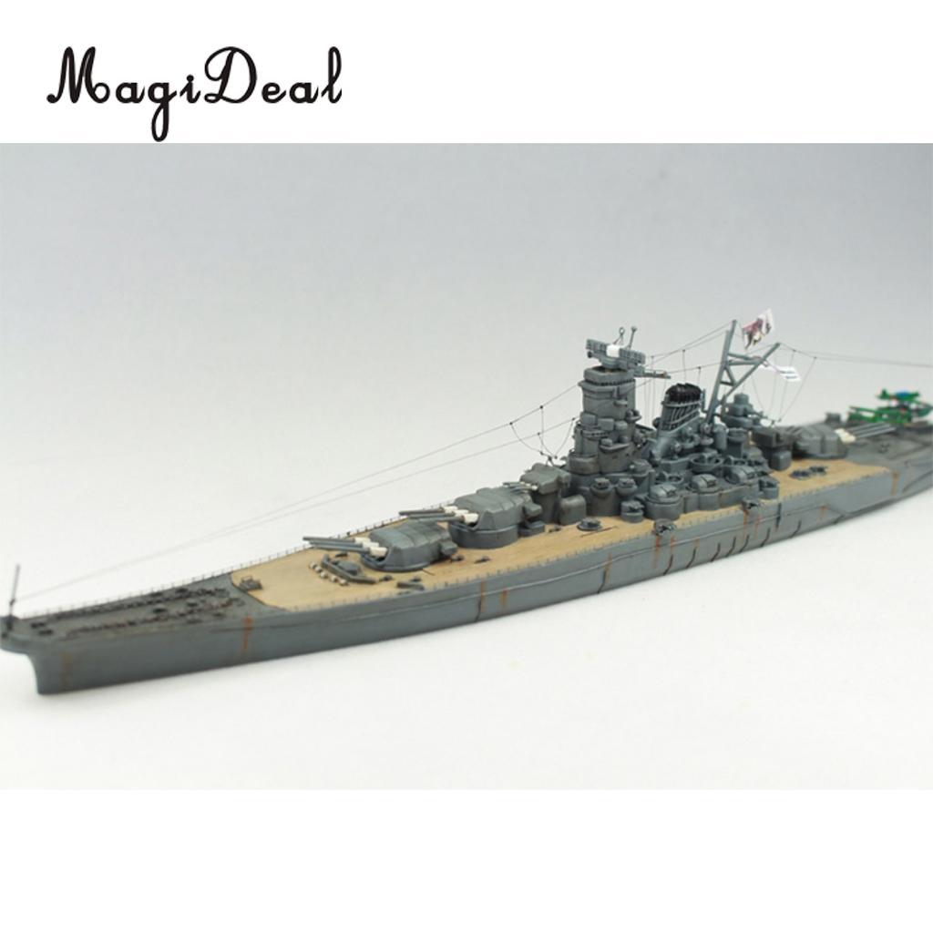 1//700 Weltkrieg Japan Japan Yamato Schlachtschiff Modell mit Elektromotor