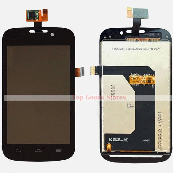 ZTE 버진 모바일 경외감을 n800 LCD 디스플레이 + 터치 디지타이저 유리 패널 조립 수리 부분 무료 배송(China (Mainland))