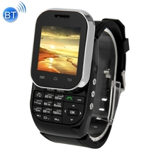 KEN XIN DA W1 Smart Watch Phone 1.44 inch QCIF Touch Screen & Slide-out Keyboard Support Dual SIM Bluetooth FM Radio MP4 GSM(China (Mainland))