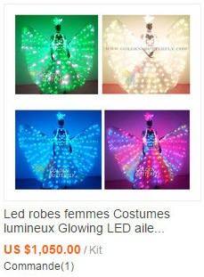 LED Mask Glowing Mask With Battery LED Clothing Light Party Prop Women's Luminous Mask Masquerade Activities Accessories