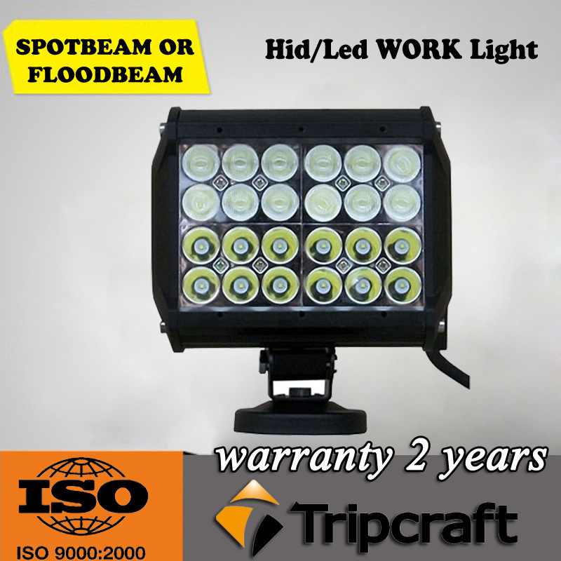 New Coming! 2PCS/LOT! 6.5inch 72W CREE LED OFFROAD LIGHT BAR Spot Flood Combo Beam 12V 24V For ATV SUV 4WD 4X4 Boating Hunting<br><br>Aliexpress