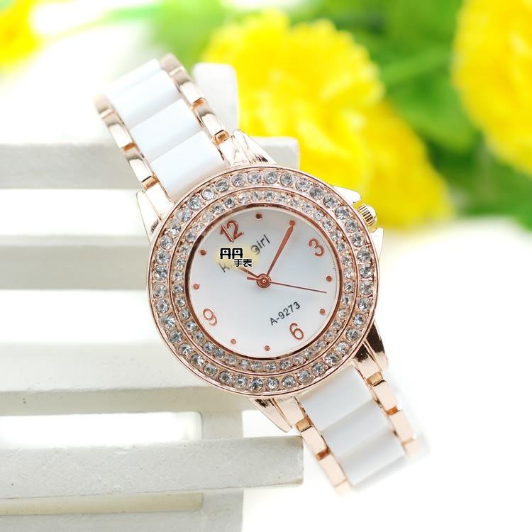 Casual watch women fashion luxury quartz watch Imitation ceramic bracelets &amp; bangles gold plated wristwatches christmas gift<br><br>Aliexpress