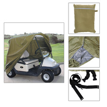 Size S/M/L 4 Passenger Waterproof Golf Cart Cover EZ Go Club Car For Yamaha Golf Cart Cart Storage Car Styling Covers(China (Mainland))