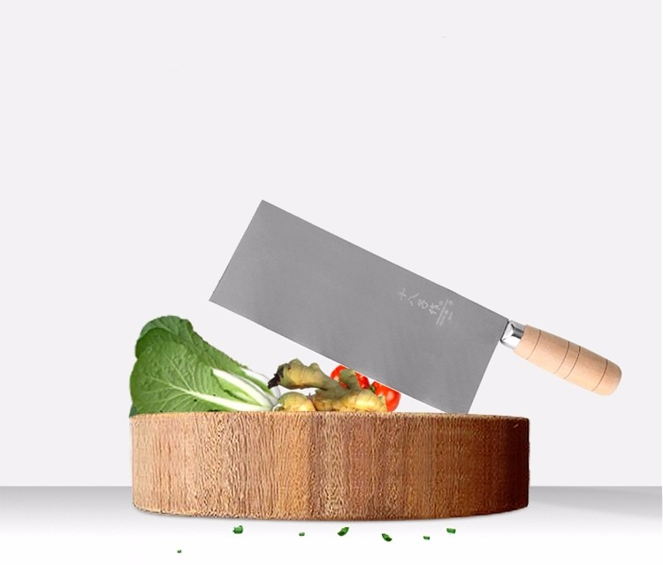 Buy 2016 new top grade kitchen knives 7 inch stainless steel chef knife kitchen knife cleaver meat sharp knife Free shipping cheap
