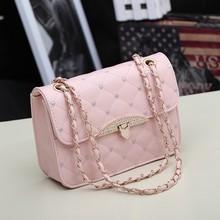 pink leather messenger bag promotion