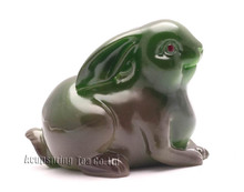 Buy Green Rabbit, Lucky Charms, Chinese zodiac, Shenxiao,Allochroic Mascot, Ornament,newness gifts, Tea pet, S1051A for $12.55 in AliExpress store