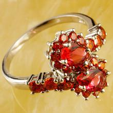 2015 Free Shipping Shiny Lady Pear Cut Tourmaline Ring(China (Mainland))