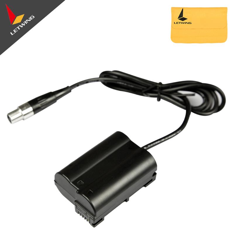 LanParte Power Coupler EN-EL15 EL15 Dummy Battery Pack for Nikon D800 D600 D7000(China (Mainland))