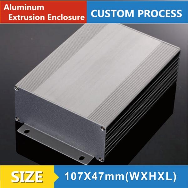 107*47-150mm(wxhxl)Customized Aluminium Extrusion Enclosure aluminum enclosure box(China (Mainland))
