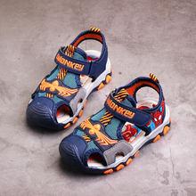 סנדלי בני קיץ, ילדי חוף נעליים, ילדים ספיידרמן נעלי לילד, מזדמן שטוח נעליים, אופנה מגזרות סנדל ילד BS171(China)