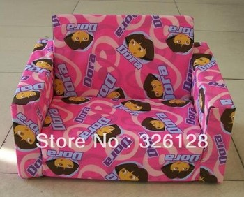 New arrival baby sofa ,folding sofa for boys and girls,dora sofa