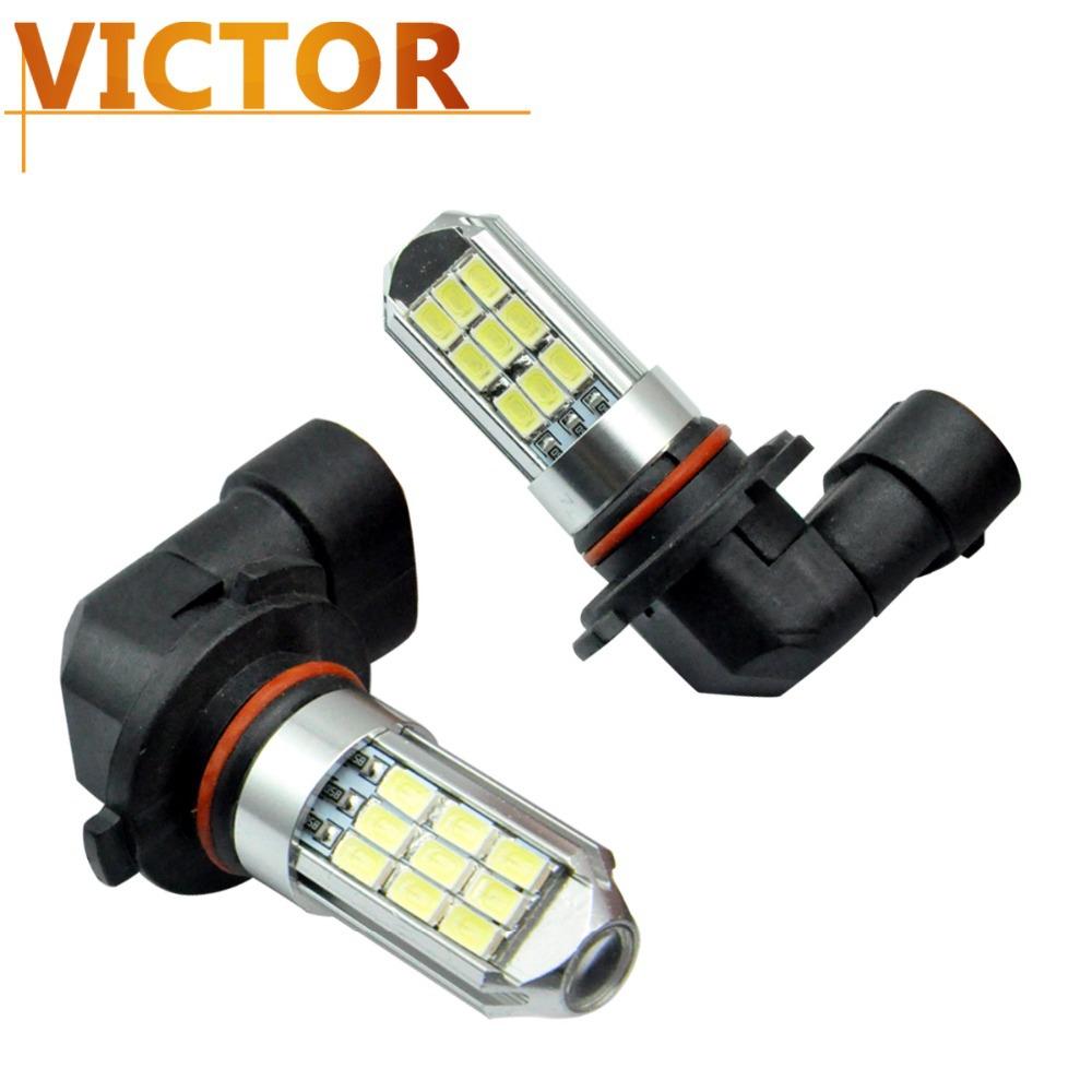 1X H4 H7 9006 9005 80w 27SMD 5630 Ultra Bright white Car Fog Light Head Lamp light Driving LED Lamp Free Shipping #VI16-1