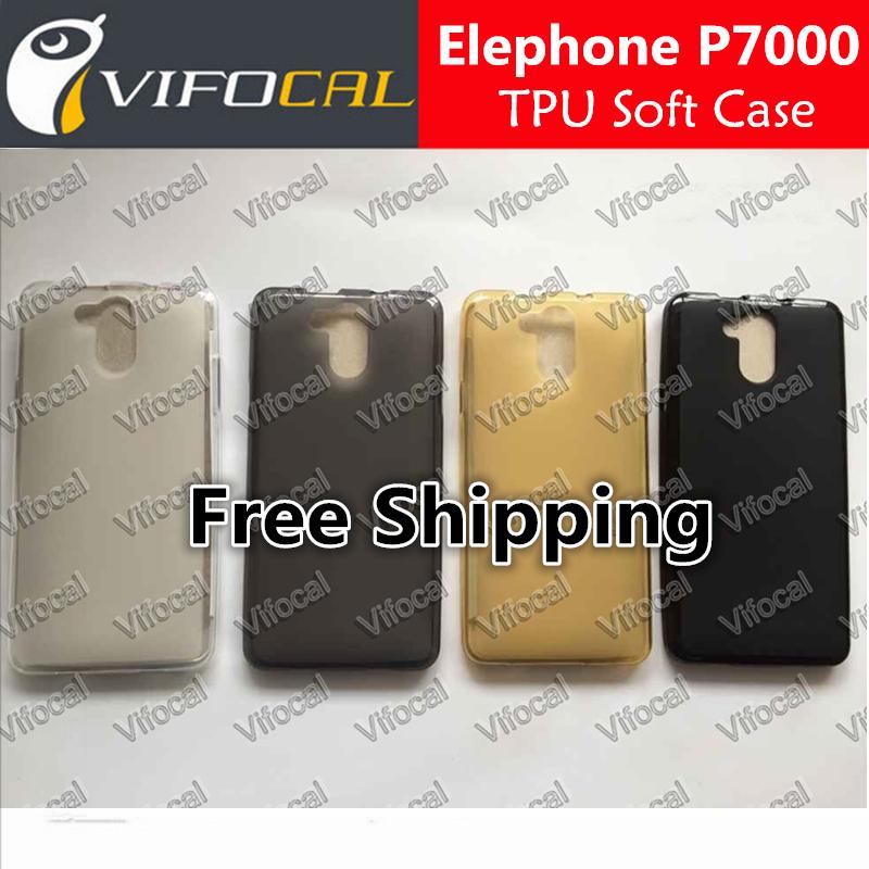 Гаджет  Elephone P7000 TPU Case Soft silicon TPU 100% Original Protective Back Cover For Elephone P7000 Mobile Phone + Free Shipping None Телефоны и Телекоммуникации