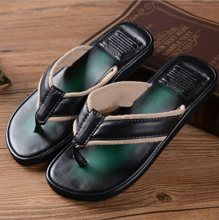 Flip Flop Men Fashion Beach Shoes, Mens Slipper Rubber Sole Sandalias Masculina,Plus Size PVC Summer Beach Men Sandals