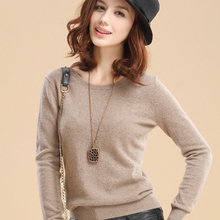 New Fashion Round Neck Pullover Sweater, Knitting/Cashmere Sweater/Coat Slim/Base Shirt,  Multicolor Available Genuine Goods(China (Mainland))