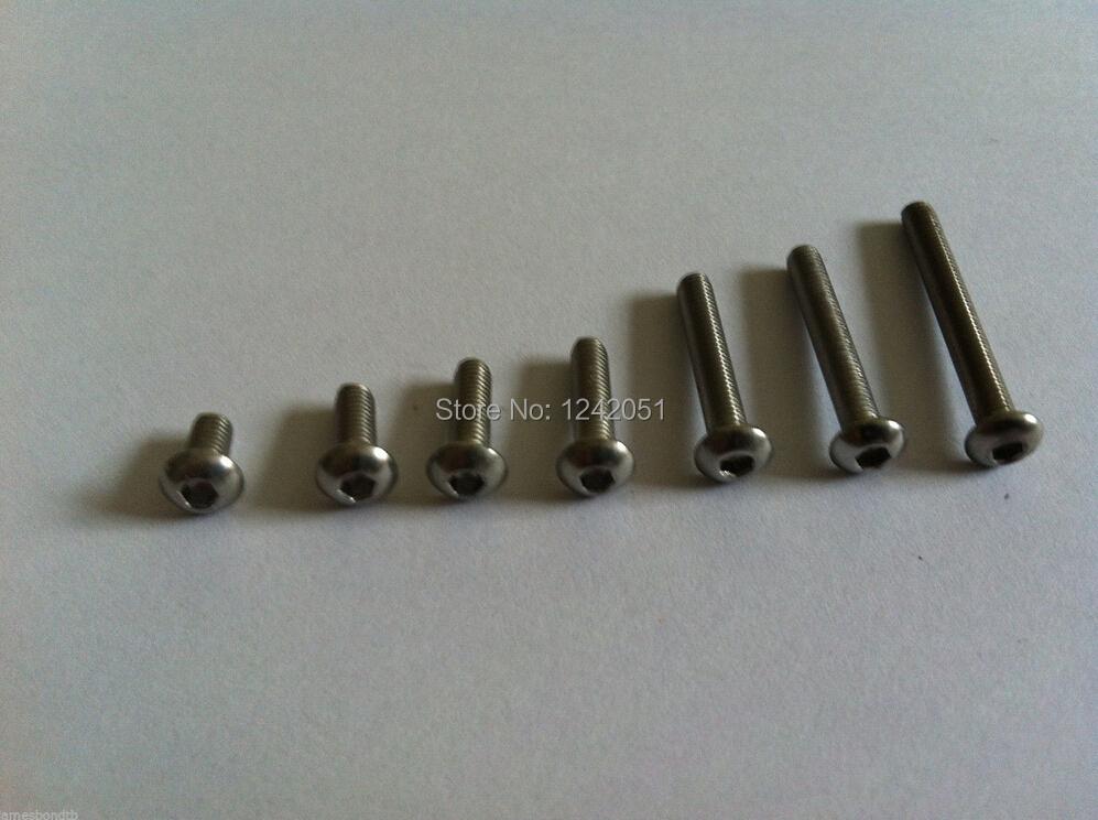 Болт Screw Bolts 100 M3x10mm Socket M3*10mm 20pcs m3 6 m3 x 6mm aluminum anodized hex socket button head screw