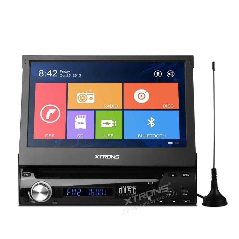 "7"" Single Din Car DVD 1 Din Car Radio One Din Car GPS with MPEG2/4 DVB-T Digital TV & Windows 8 Metro-style Interface(China (Mainland))"