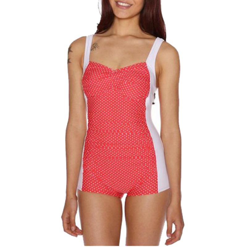 S XL plus size swimsuit one piece bathing suit retro ...