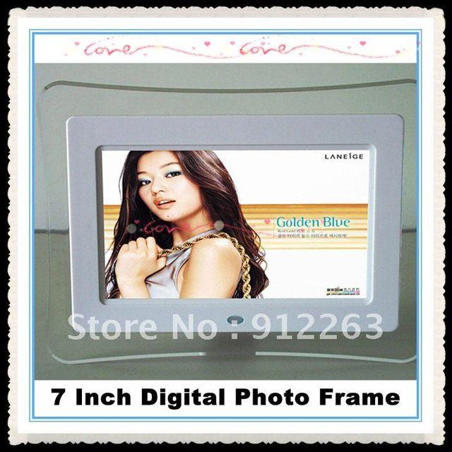 2012 hot sale  7inch digital photo frame/digital picture frame