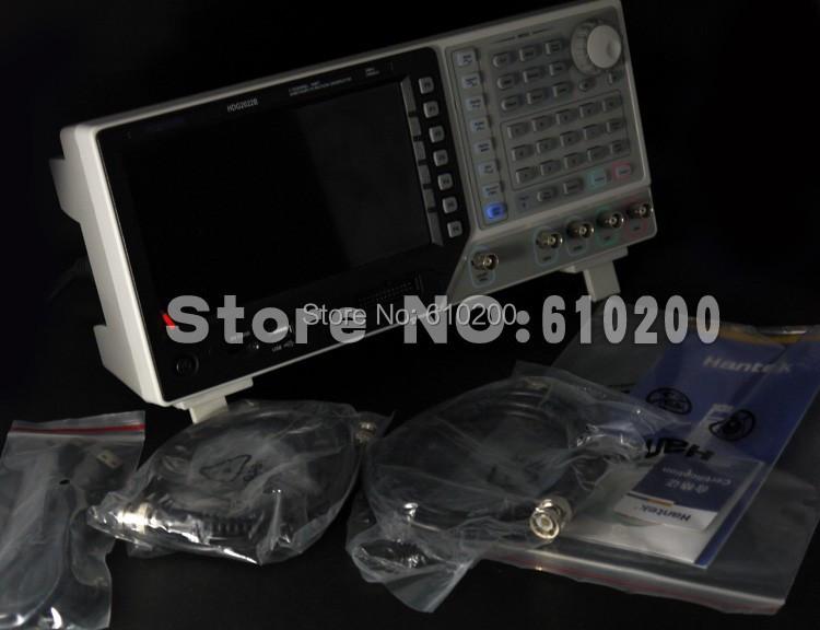 Генератор сигнала HANTEK HDG2032B DDS 2CH 30 250MSa/s 64M hantek pc 2ch digital oscilloscope hantek6082be 80mhz 250ms s usbxi interface