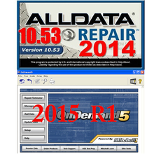 ALLDATA 10.53+2015 Mitchell Ondemand 5+ESI BOOSI+ELSA 4.1  Auto Car Repair Software with 1TB Hard Disk USB 3.0 Free Shipping(China (Mainland))