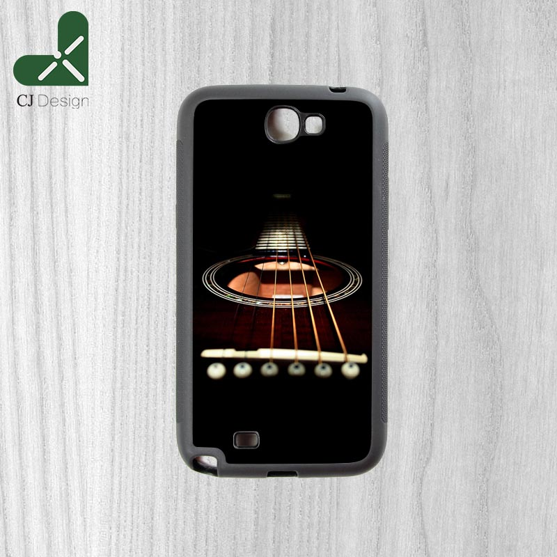 New Product Popular acoustic guitar Background Style High Quality Durable Mobile Phone Cover for Samsung Note2 Note3 Note4 Note5(China (Mainland))