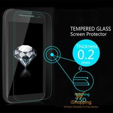 0.2mm Premium Explosion-Proof Clear Tempered Glass Screen Protector Film Moto E2 2015 XT1527 XT1511 XT1505 +Retail Package - iShopping-24 Hours Sincerely Serving You! store