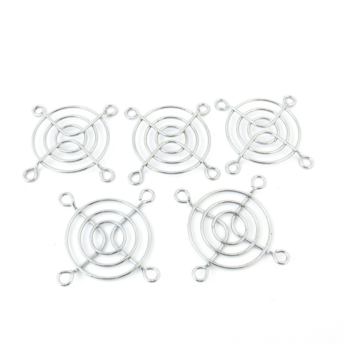 YOC-5 pcs 4cm Diameter Axial DC Fan Grill Metal PC Finger Guard Protector(China (Mainland))