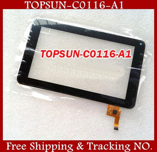 2/lot New 7 inch Prestigio Multipad 7.0 Ultra PMP3670B Tablet Touch Screen Digitizer Handwritten Panel TOPSUN_C0116_A1 - Peace Striver Store store