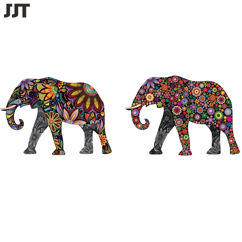 2016 Home Decoration Vinyl Sticker Accessories Elephant Cheap Wallpaper For Living Room Free Shipping JJT1027(China (Mainland))