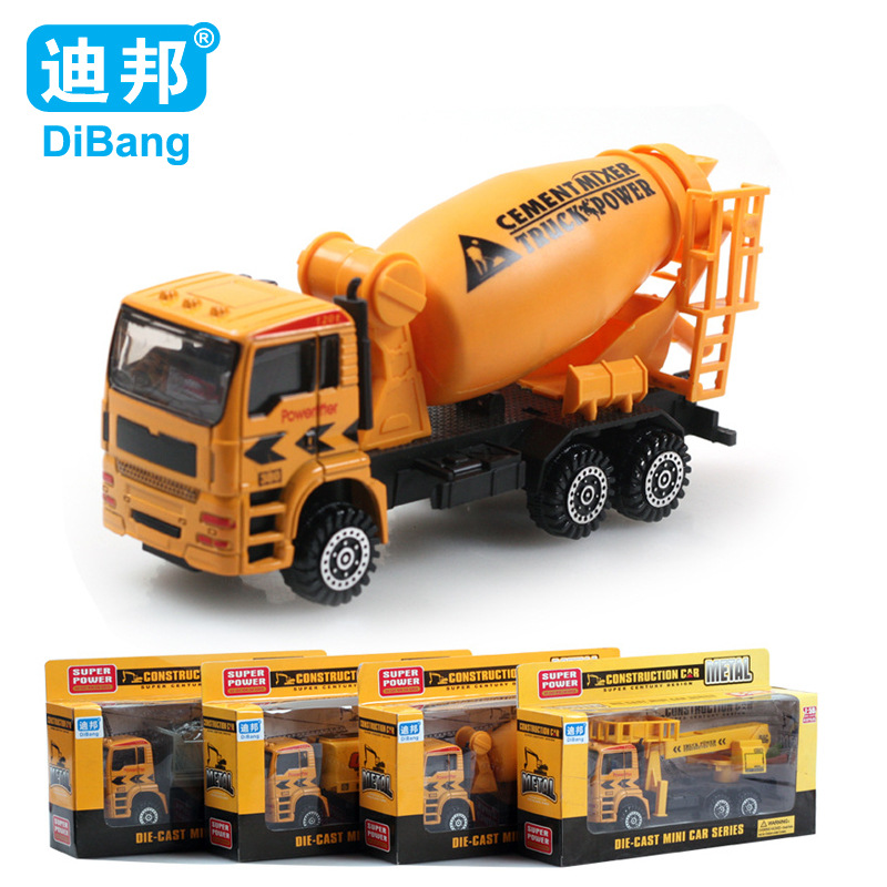 Kids Toys For Children Alloy Truck Model Truck toy Juguetes Giocattoli 1:64 alloy car fire truck model sales 1:43 vehicle DB1760(China (Mainland))