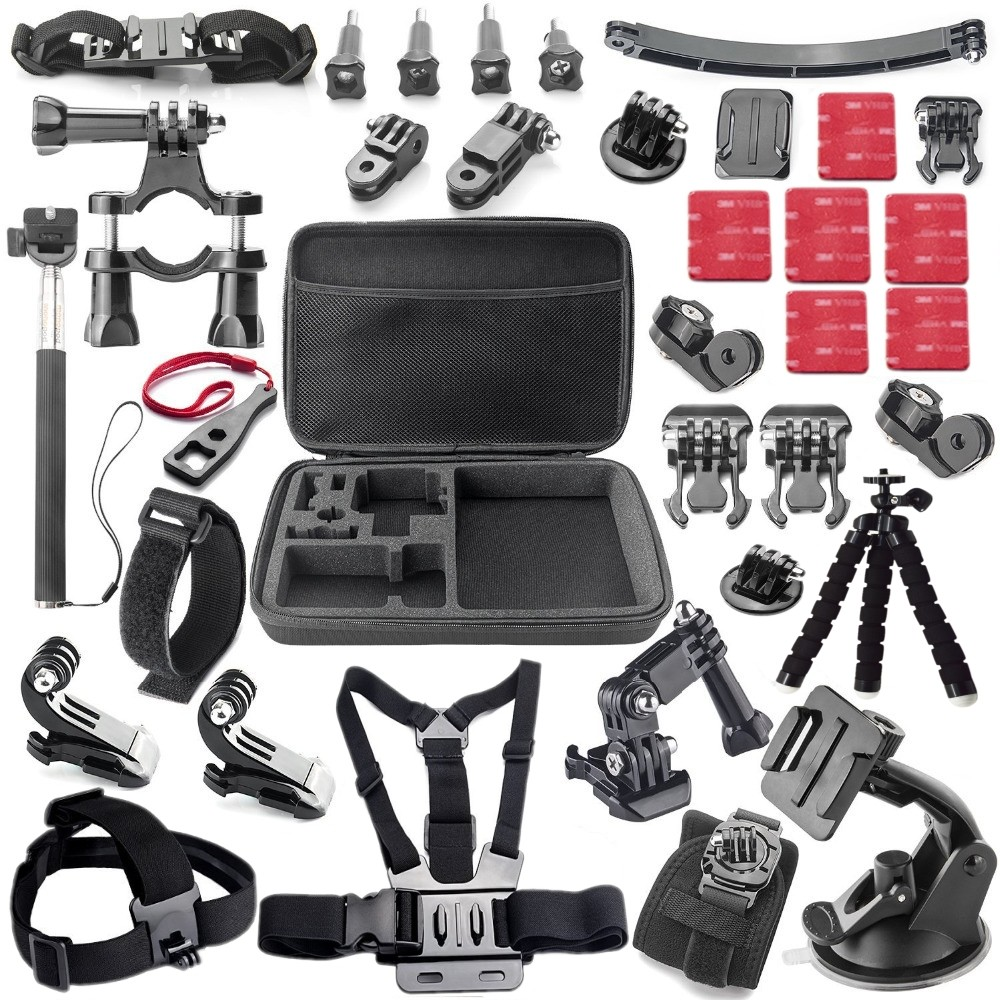 Gopro Accessories Acessorios For Sj5000 Go pro Hero 1 2 3 4 HDR AS15 AS20 AS30V