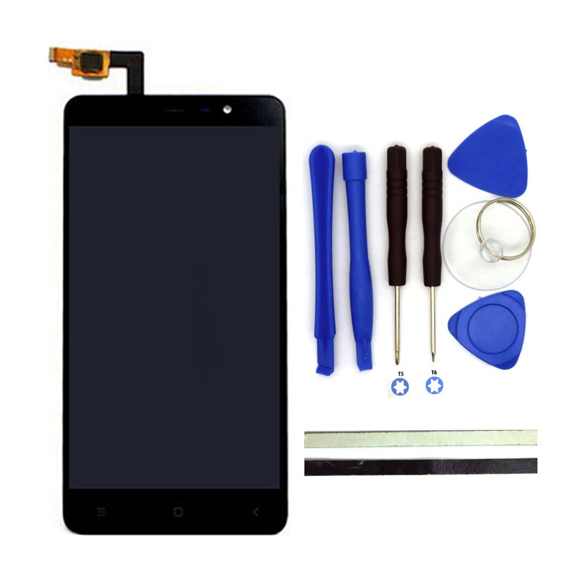 New For Xiaomi Redmi Note3 LCD Display Screen+Digitizer Touch Screen Replacement Hongmi Note 3 Pro / Prime Phone Parts FreeTools