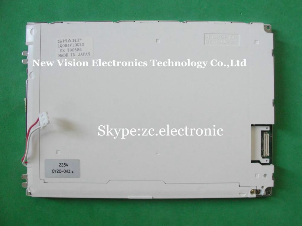 "Original 8.4"" TFT LCD Panel Display LQ084V1DG22 For Anritsu MT8820A Radio Communication Analyzer 640*480 VGA Display(China (Mainland))"