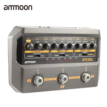 ammoon GT3 Digital Guitar Multi Effect Guitar Effects (Distortion Overdrive Heavy Metal Phase Shift Flange Chrous Reverb Delay)(China (Mainland))
