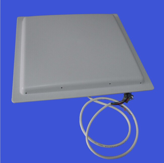 US EU frequency MAX15M UHF RFID integrated long range WG26 antenna reader for car parking barrier gate storehouse management(China (Mainland))