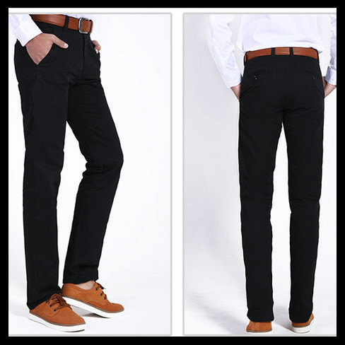 black khaki pants men - Pi Pants