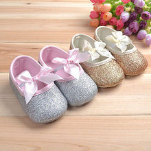 2016 New Soft Sole Baby Girl Shoes Cotton Toddler Infant Newborn Baby Casual Shoes(China (Mainland))