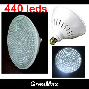 High Quality 440 leds 25W Factory Store LED Light Bulb Lamp E27 220V White & Warm & Red and White Lighting Free Shipping