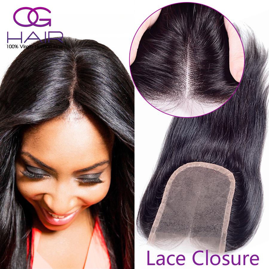 7a Brazilian Straight Lace Closure Free/Middle/3 Part Human Hair Closure Cheap Queen Hair Closure Brazilian Lace Closure   <br><br>Aliexpress