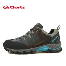 2016 Clorts Men Hiking Shoes Breathable Cow Suede Outdoor Hiking Boots Waterproof Sports Sneakers HKL-806(China (Mainland))
