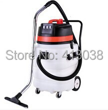 Free shipping imported corrosion-resistant plastic bucket, dust, water, double, triple super motor industrial vacuum cleaners(China (Mainland))