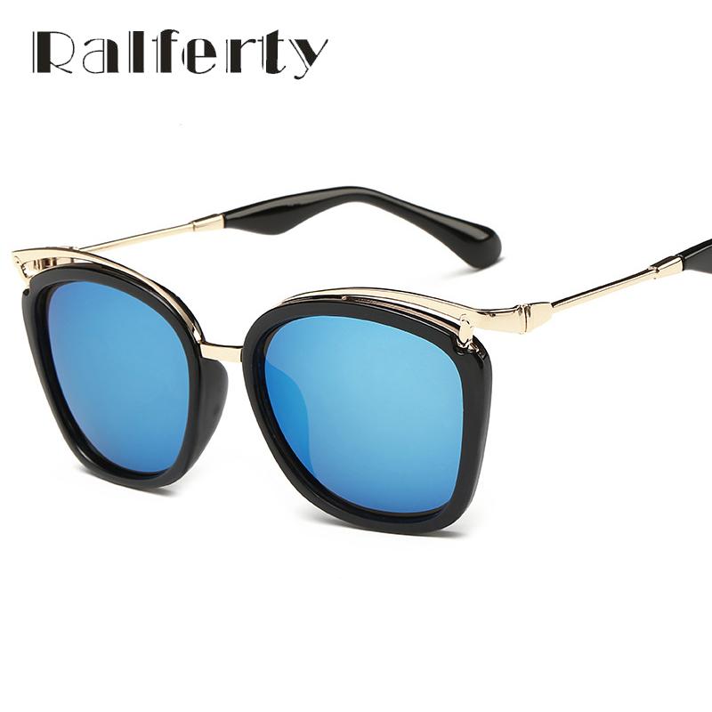 Ralferty Fashion Oversized Cat Eye Sunglasses Women Brand Designer Multicolor Sun Glasses For Women Driving Goggles Oculos 5292(China (Mainland))